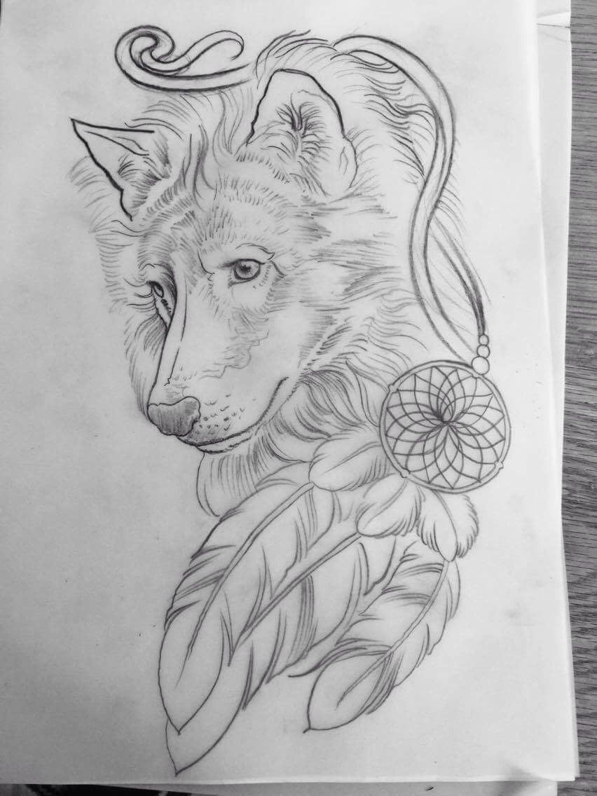 The Artwork For My Custom Wolf Tattoo Done By Age Grech From Sydney I Ve Known The Wolf Was My Spirit Ani Crucifix Tattoo American Indian Tattoos Wolf Tattoos