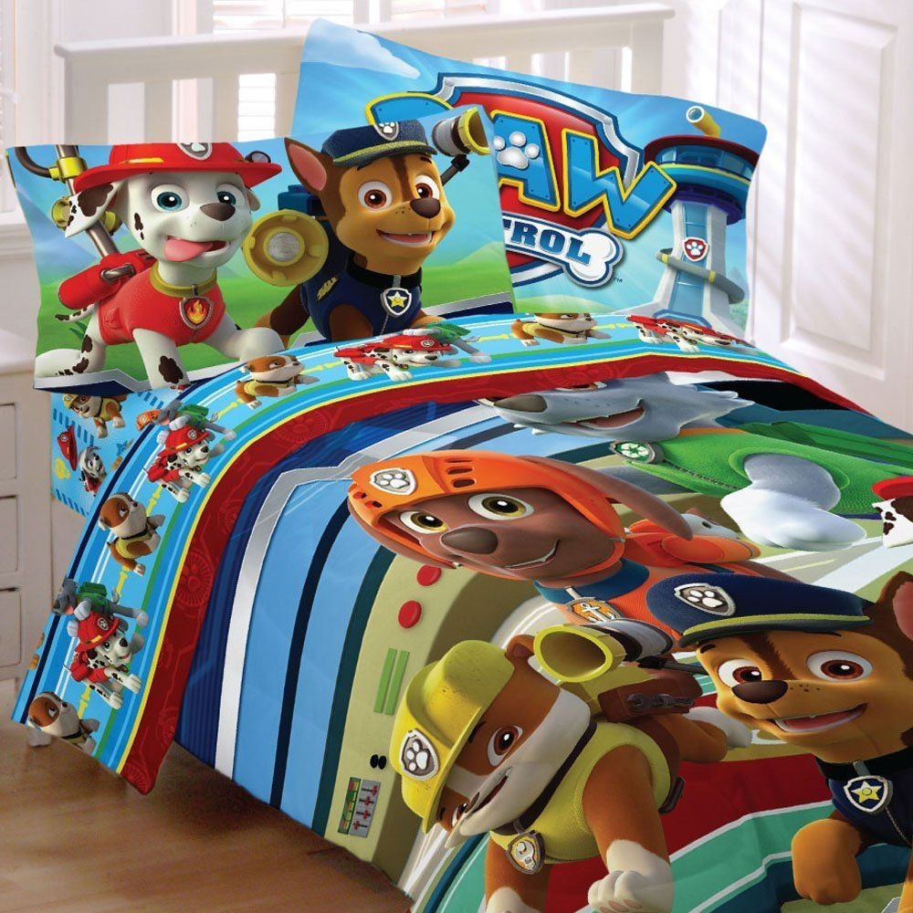 Nickelodeon & Paw Patrol Kids Bedding Sets Sale (avec images