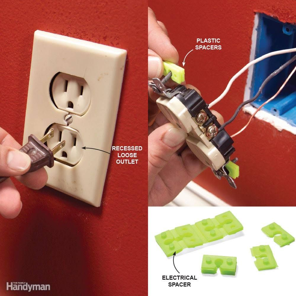 Top 10 Electrical Mistakes Building Pinterest Basements Home Outlet Wiring Diagrams Basic Improvement Mistake 4 Poor Support For Outlets And Switches