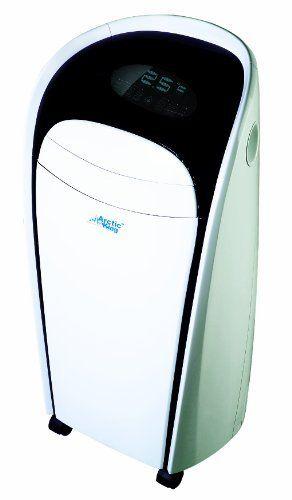 Midea 10k Btu Portable Ac By Midea 299 99 Portable Sleek Modern Design Air Conditioner Single Hose Electronic Display Arctic King 10 000 Btu 115v Single
