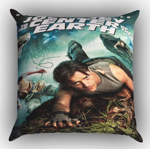 Journey to The Center of The Earth Z1406 Zippered Pillows Covers 16x16, 18x18, 20x20 Inches