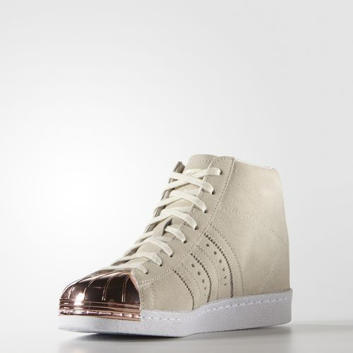 Mujer Toe Metal Originals Zapatos Adidas Up Superstar SEwAxnRq