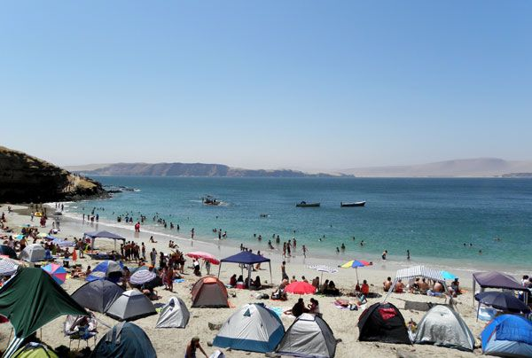 Paracas, Peru, voted one of the 13 best small towns in South America.