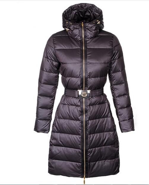 5ab1b47430b Moncler Nantes Classic Hot Sell Women Coat Zip Hooded Coffee ...