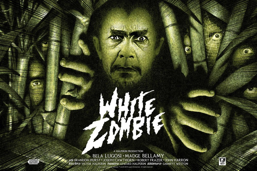 White Zombie 1932 1024 X 683 Hq Backgrounds Hd Wallpapers Gallery Gallsource Com White Zombie Horror Posters Movie Posters Vintage