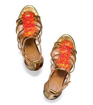 Adria Sandal | Womens Heels | ToryBurch.com