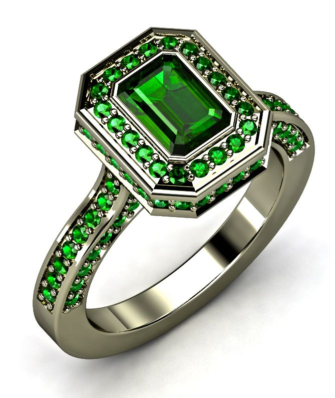 All- Emerald Ring