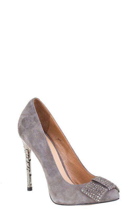 Women evening shoes grey | Women evening shoes | Pinterest ...