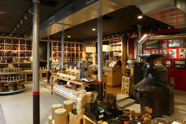 comptoirs richard coffee and tea shop rue du cherche midi. Black Bedroom Furniture Sets. Home Design Ideas