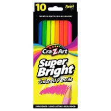 Cra Z Art 10 Ct Super Bright Colored Pencils Walmart Has Them At A