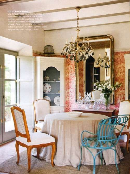 Ideas para decorar un comedor vintage decoracion vintage - Decoracion vintage salon ...