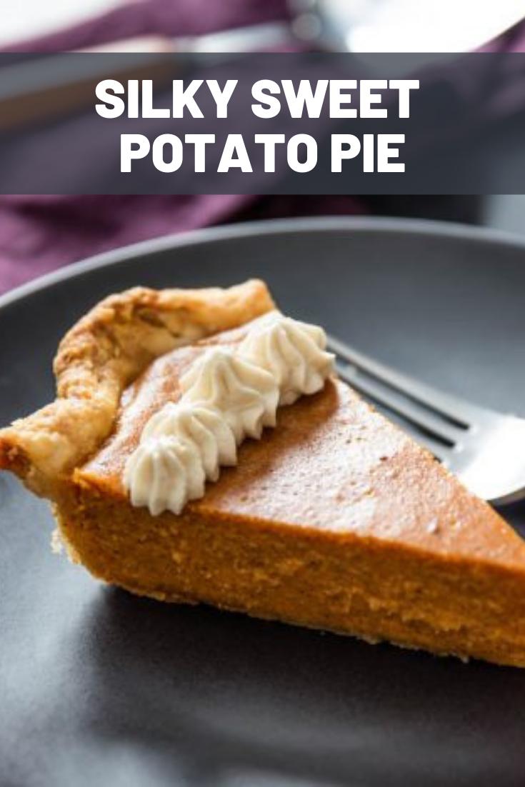 Silky Sweet Potato Pie Recipe Recipe Sweet Potato Pies Recipes Sweet Potato Pie Cooking Sweet Potatoes