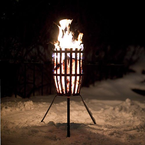 Brazier ORIGINAL fire basket by Anders Norgren