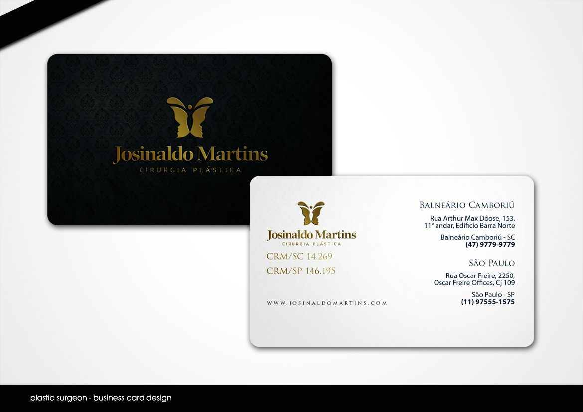 Image Result For Plastic Surgery Business Card Design Business Card Design Card Design Business Cards