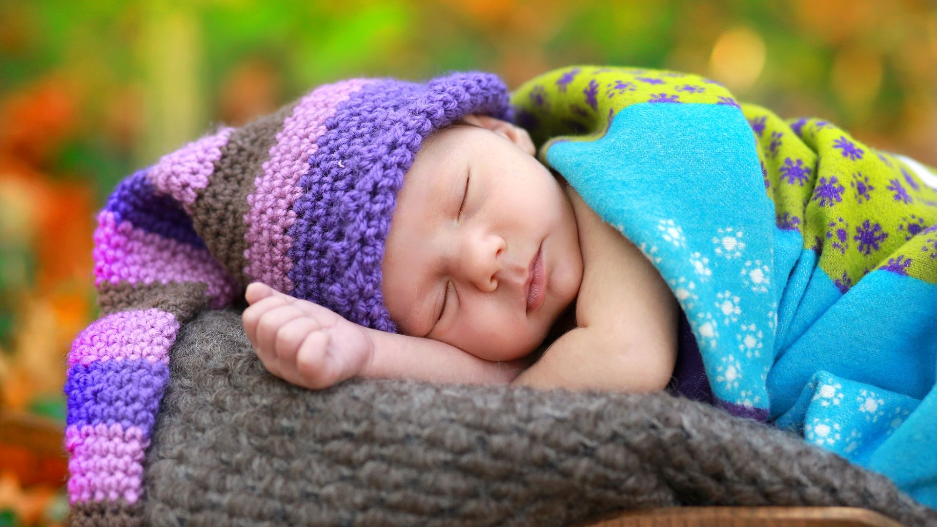 Cute Sleeping With Hat Baby Pinterest