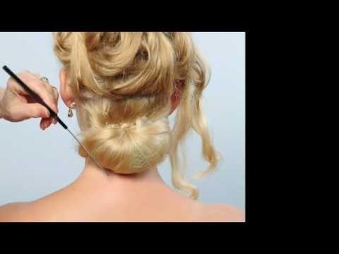 Bianca At Sharon Blain Long Hair Styling Hair Techniques Long Hair Video Bridal Hair And Makeup