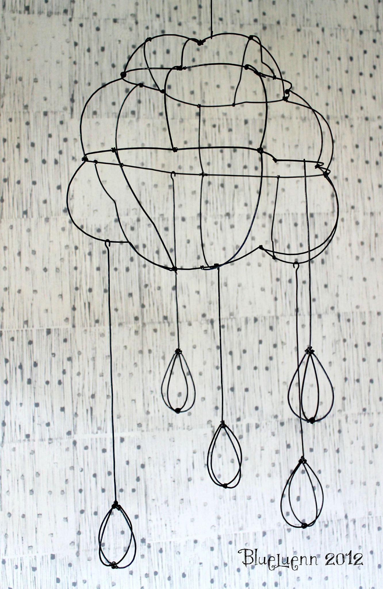 a little black rain cloud | Clouds | Pinterest | Draht, Kleine wolke ...