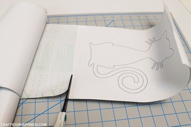 Making Stencils from Contact Paper | paper | How to make