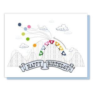 image of roller coaster birthday card tags pinterest karten geschenke und basteln. Black Bedroom Furniture Sets. Home Design Ideas