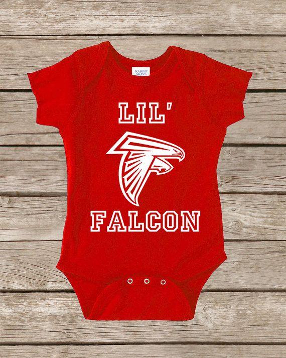more photos 6bfa1 80dee Atlanta Falcons Baby Onesie Shirt Onsie Boy Girl by ...