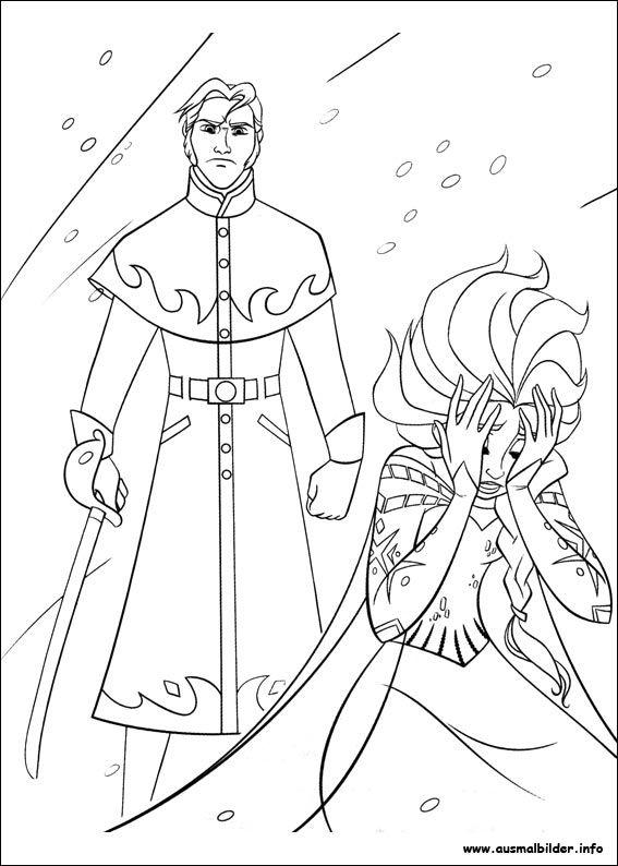 Die Eiskönigin - Völlig unverfroren malvorlagen Frozen