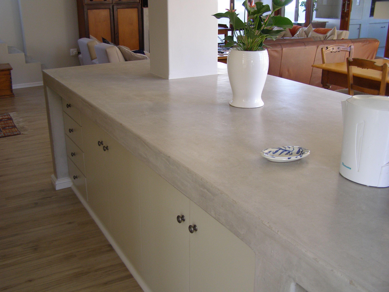 Cemcrete Kitchen Countertop Concrete Kitchen Concrete