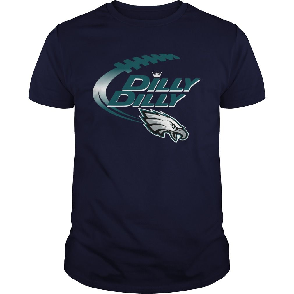 Offical Dilly Dilly Philadelphia Eagles Nfl Football Bud Light Logo Shirt