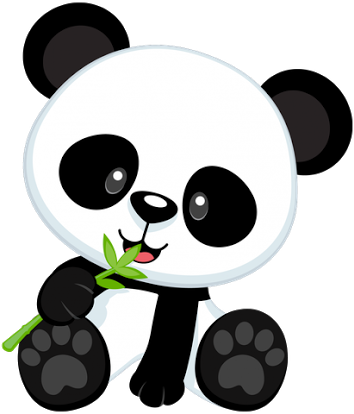 Pin by Феврония Бускина on Новый год . | Pinterest | Panda, Svg file ...
