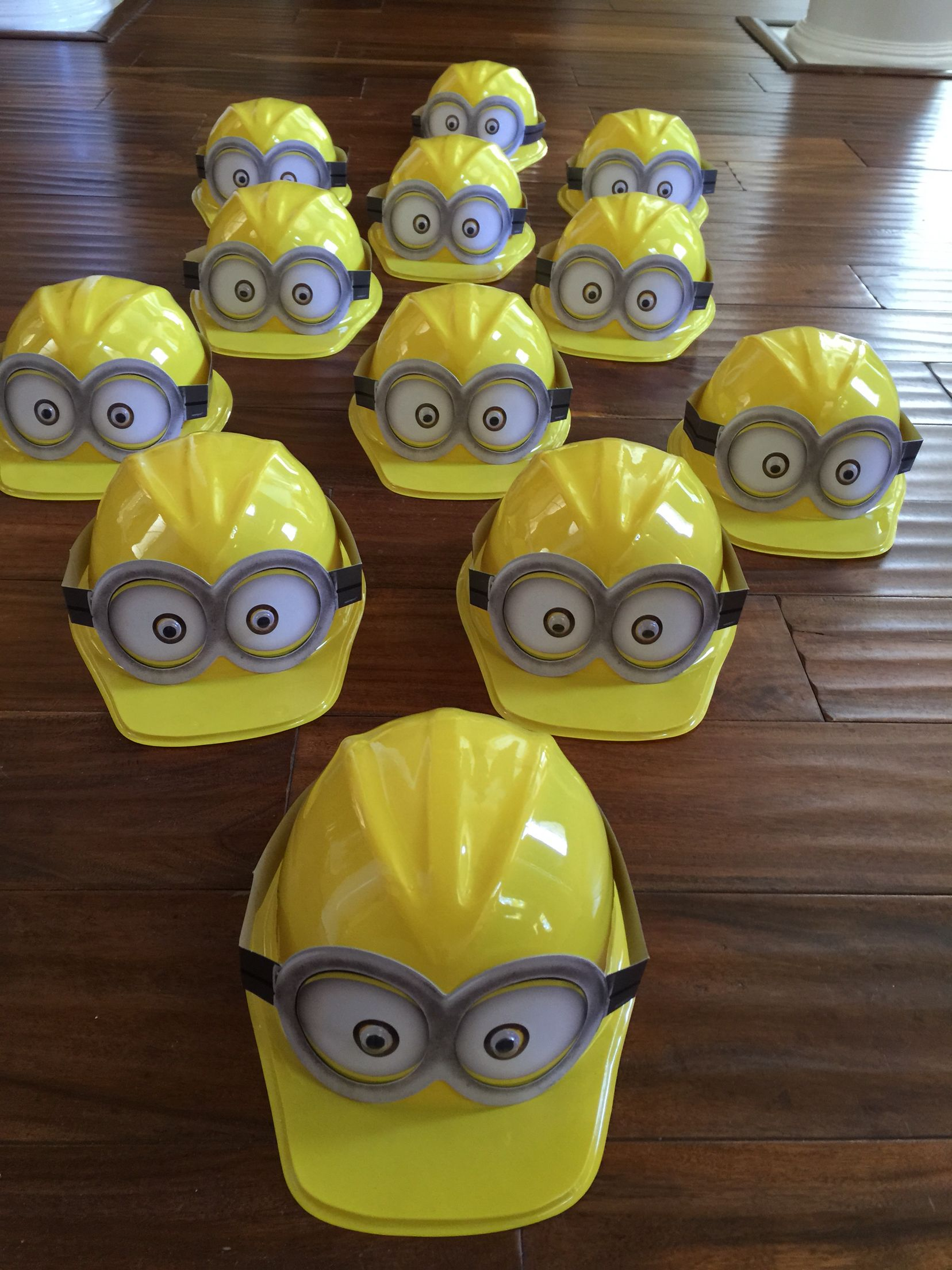 Minions for our grandson's birthday party.  So easy to make!