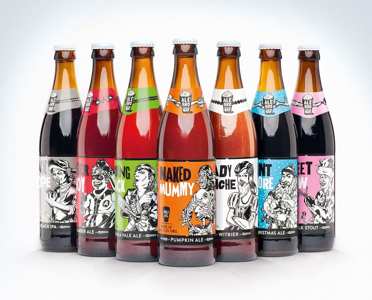 Alebrowar New Beer Premiere Beer Design Craft Beer Label Design Beer Label Design