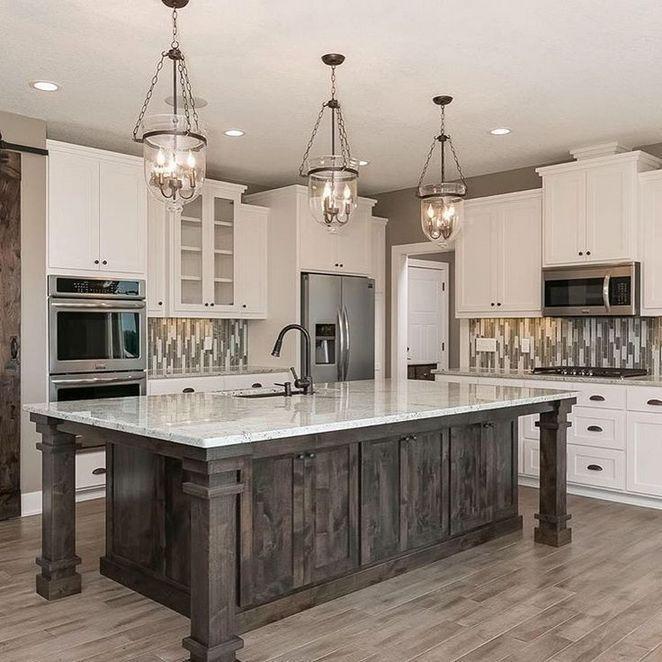 cool cape cod kitchen island design | 35+ Cape Cod Interior Design the Ultimate Convenience ...