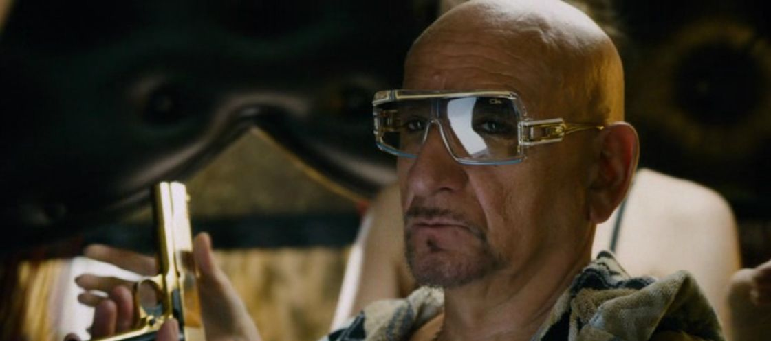 bd5209076d0 Top Geeza Ben Kingsley Collide Movie (2016) Cazal 858  Sunglasses  shades   Mensfashion