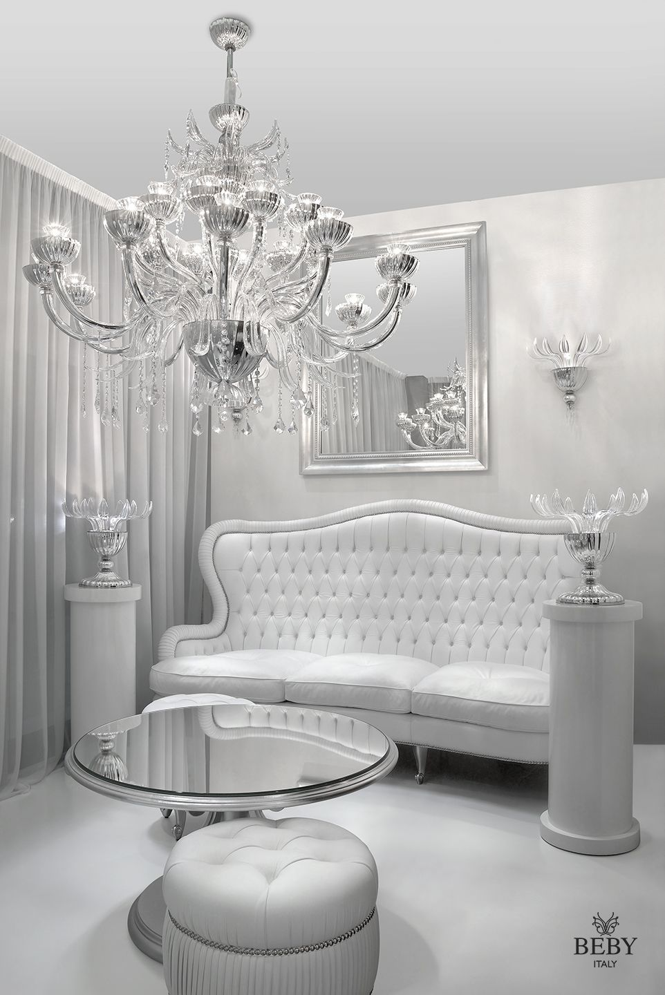 White & Silver. Passion Living Collection & Garden Party Lighting ...