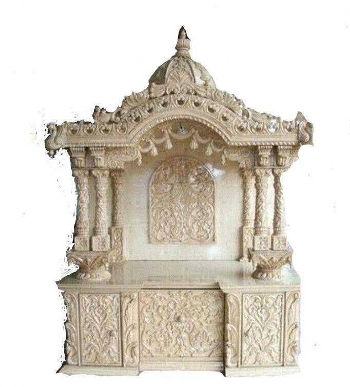 Wood Mandir. Free Quick View With Wood Mandir. Simple Prayer Unit ...