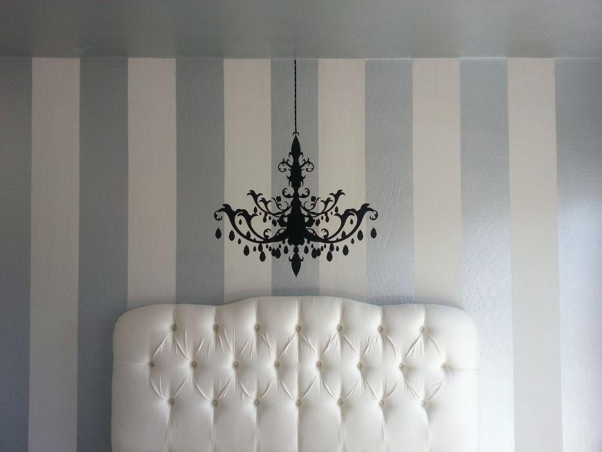 Diy interior painting vertical stripes make ceilings look