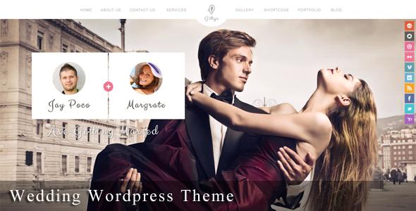Download #Templates #Wedding #Responsive #Website #Gittys ...