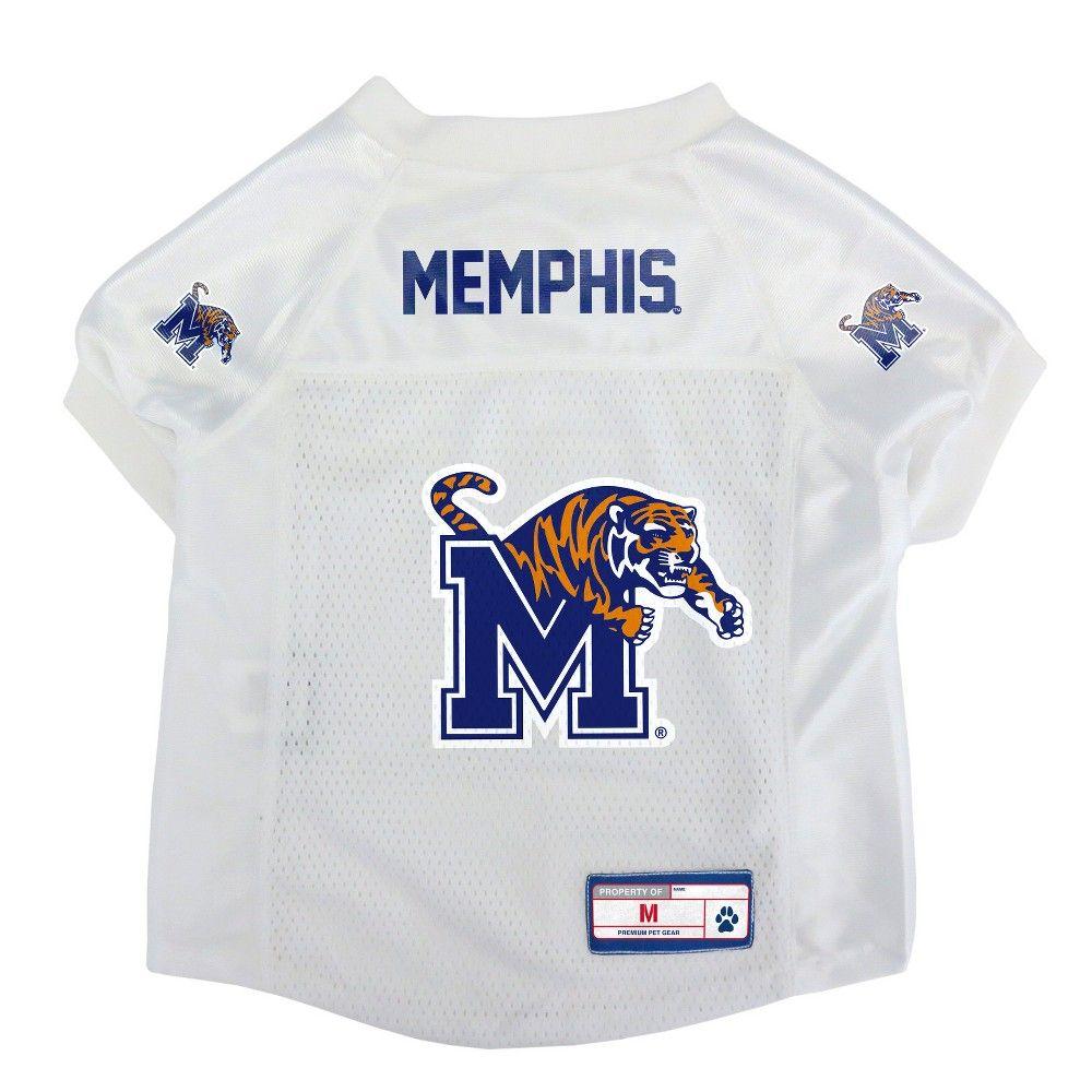 Memphis Tigers Little Earth Pet Football Jersey - M 86b1ea75b