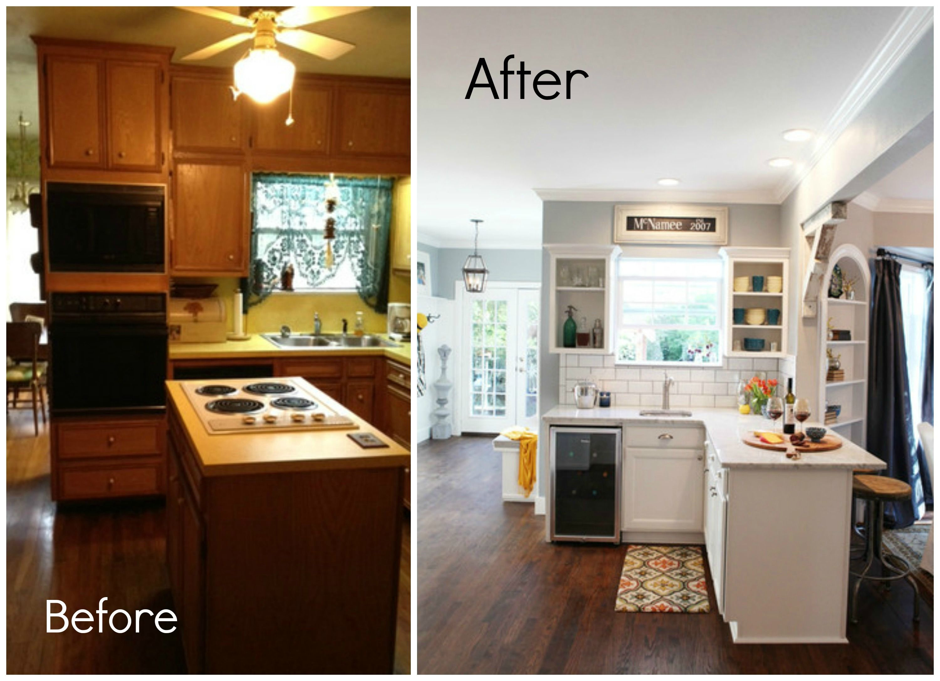 Fixer upper kitchen gallery - Hgtvs Fixer Upper Before And After