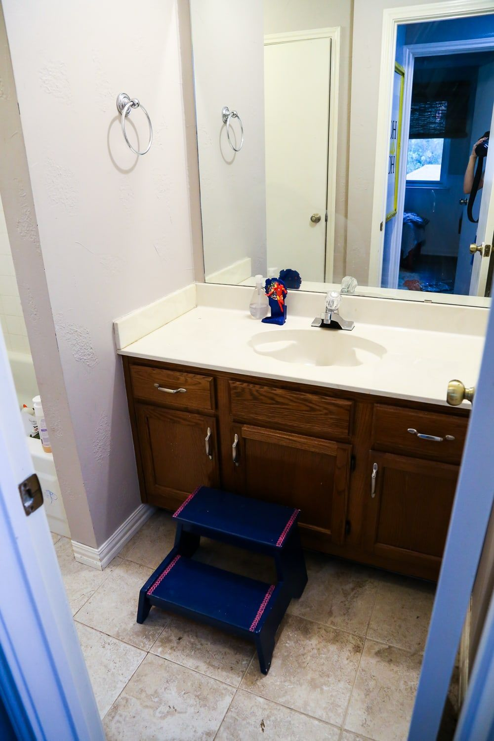 How To Replace A Bathroom Countertop Love Renovations