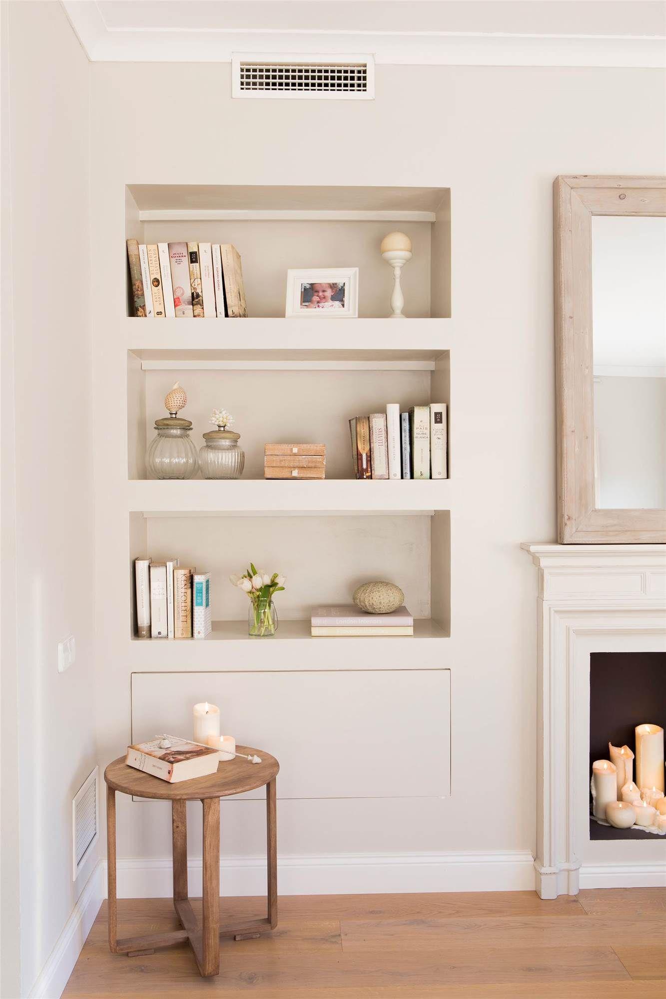 M s trucos en 2019 for the home estanter as empotradas - Decoracion de muebles de salon ...