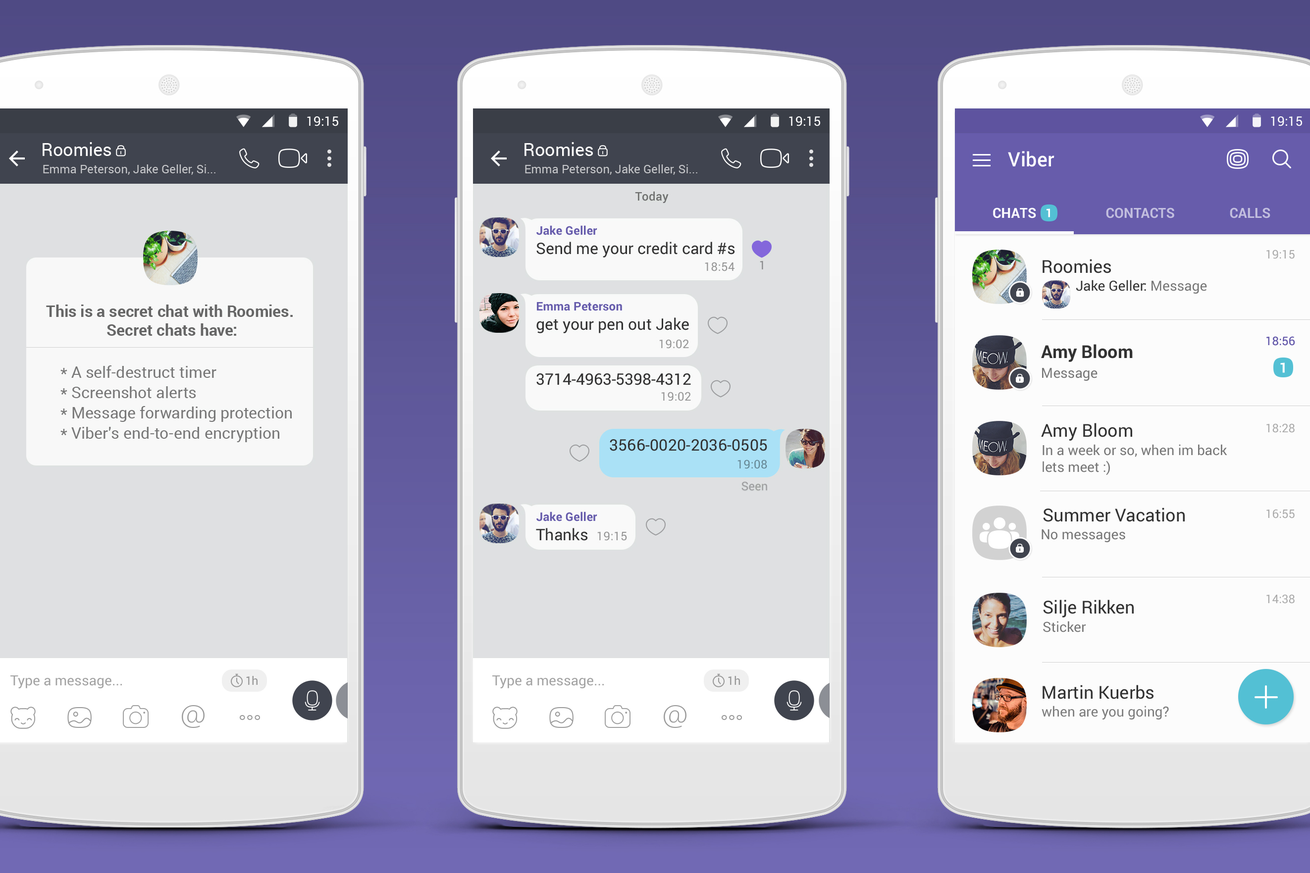 Messaging app Viber is adding selfdestructing chats for