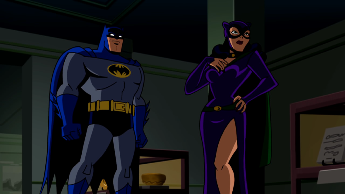 Batman Vs Catwoman In Batman Brave The Bold Cartoon Batman
