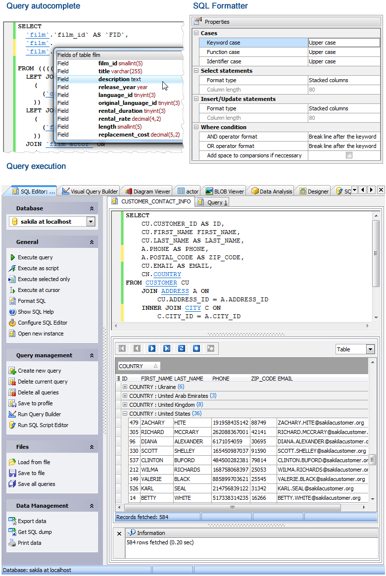 Sqlite Code Factory V17 4 0 3 With Cracked Exe Sql Query Builder Coding Sql
