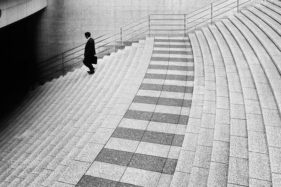 into the darkness by Hiroharu-Matsumoto