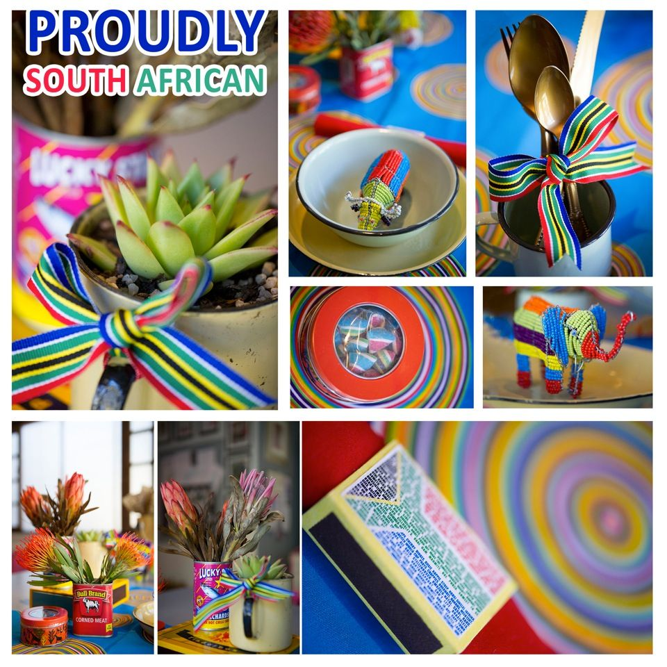 Table decor for proudly sa party proudly south african table decor for proudly sa party hello americaafrican historywedding inspirationwedding ideasafrican junglequotesouth african weddingstable decorations junglespirit Image collections