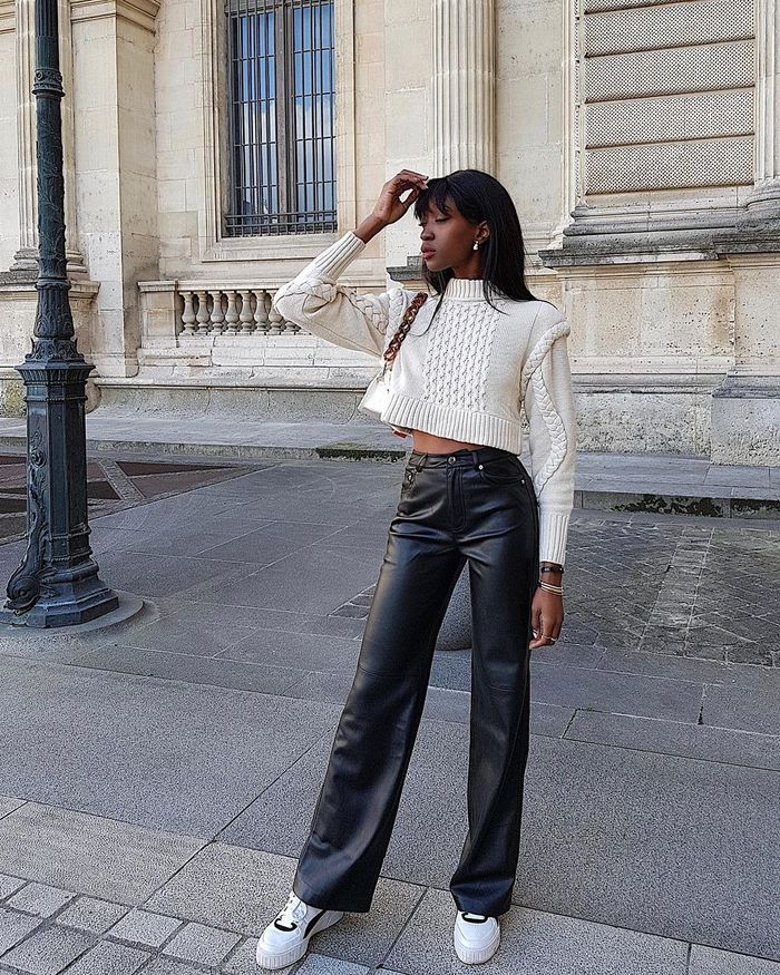 Photo of 7 Trendy Basics to Wear With Leather Pants This Fall