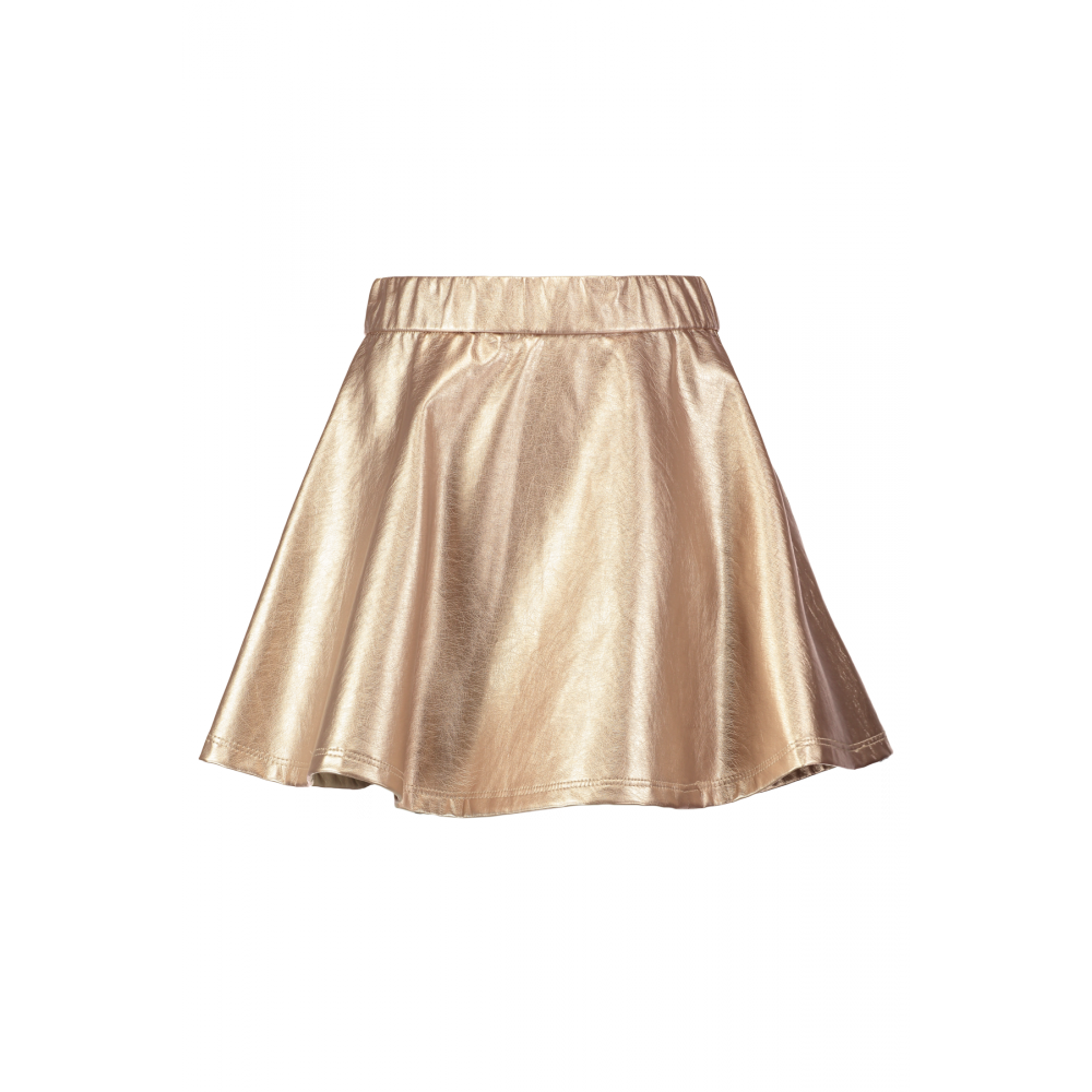 A-lijn rok Oxmetalic Metallic goud Meisjes CoolCat
