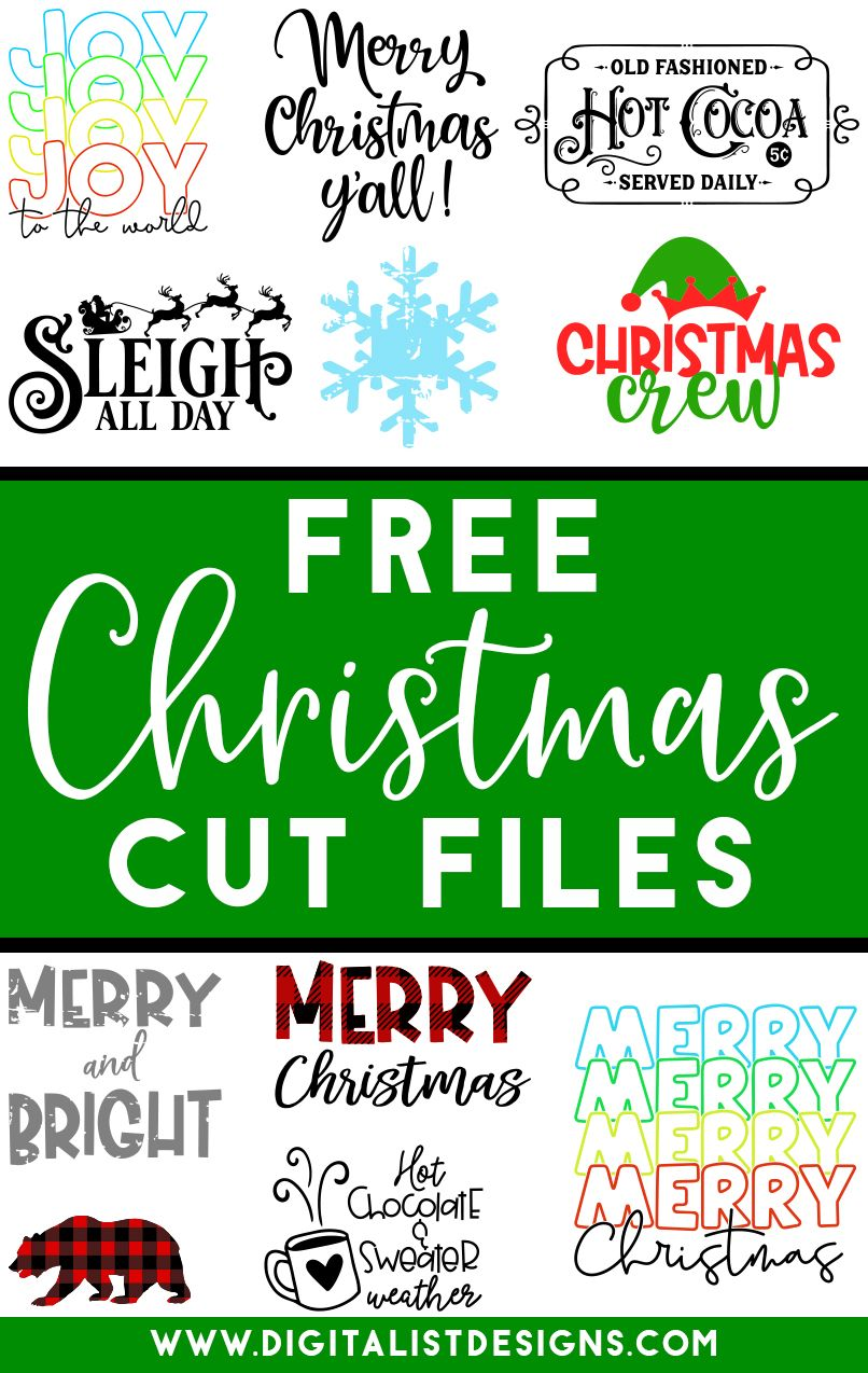 Download Pin on Christmas SVG Cut Files | Cricut and Silhouette ...