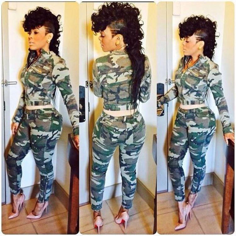 e158bf9ce30 Sexy Women Camouflage Print Jumpsuit Bodycon Long Pants Club Party Wear  Playsuit in Clothing