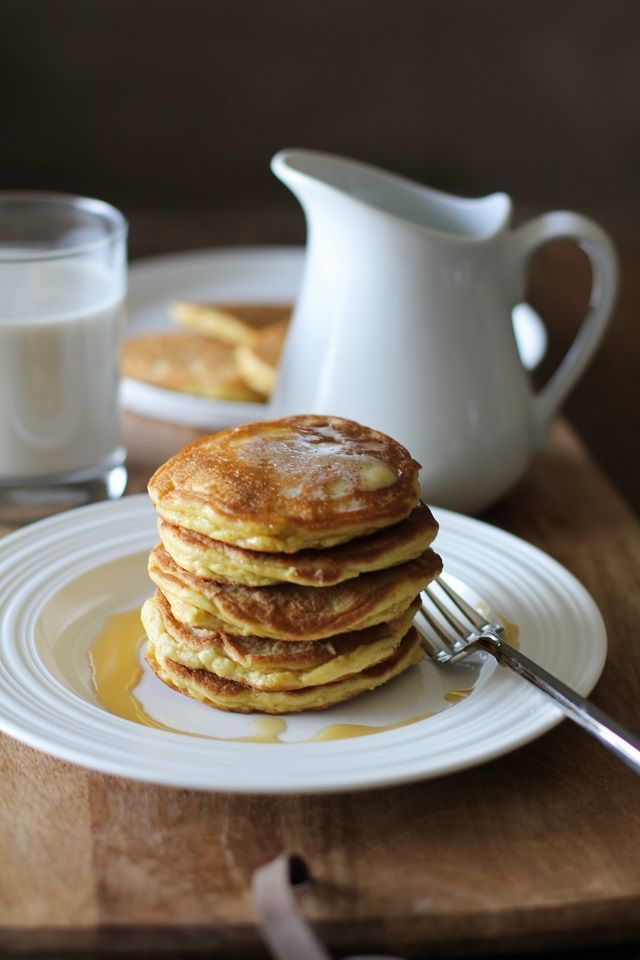 Basic Fluffy Coconut Flour Pancakes - gluten free, grain free, dairy free, and p...   - { Healthy Eats } -